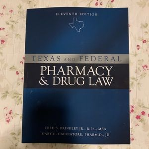 Pharmacy and drug law